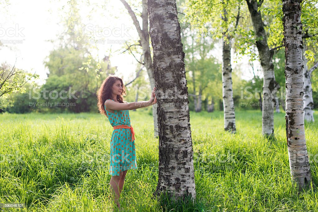Feel the nature royalty-free stock photo