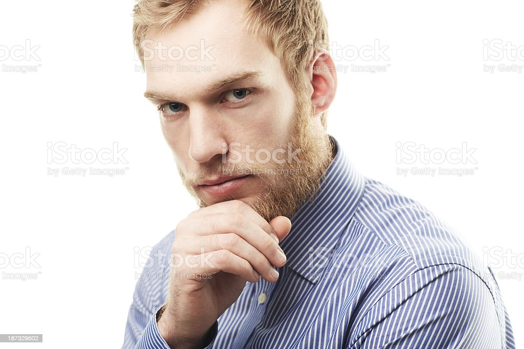 Feeling confident and looking cool royalty-free stock photo