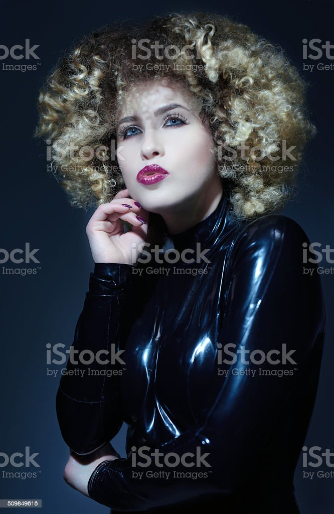 feeling cool and seductive stock photo