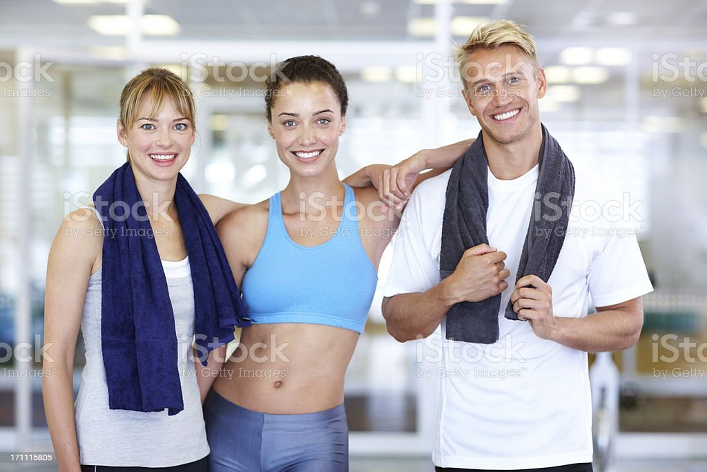Feeling fit and full of energy royalty-free stock photo