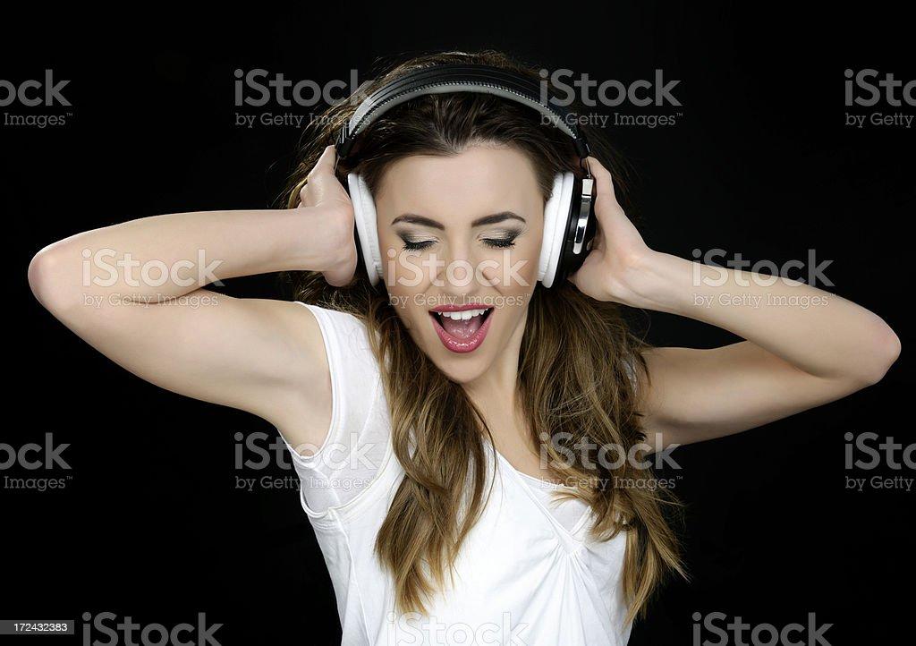 feeling music royalty-free stock photo