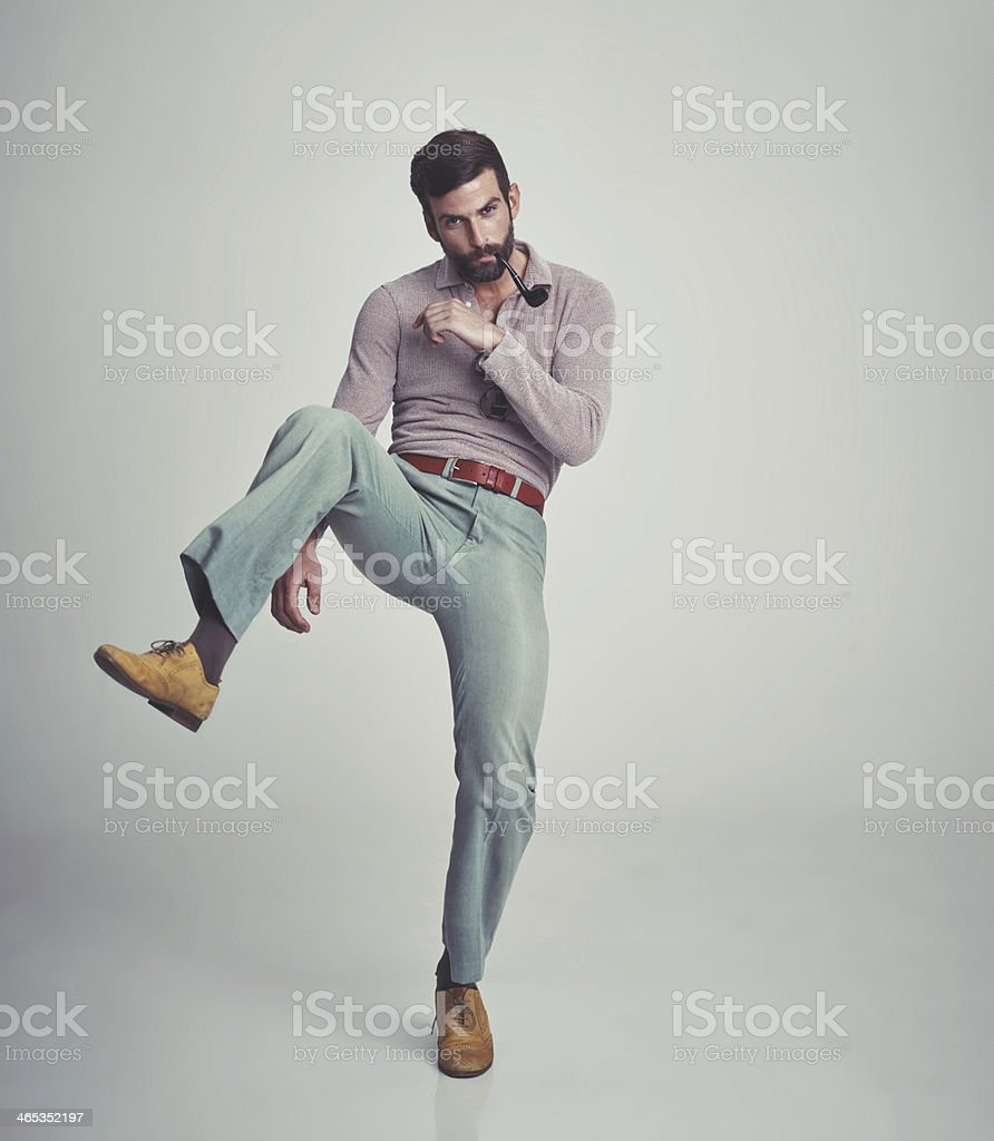 Feeling ready for anything stock photo