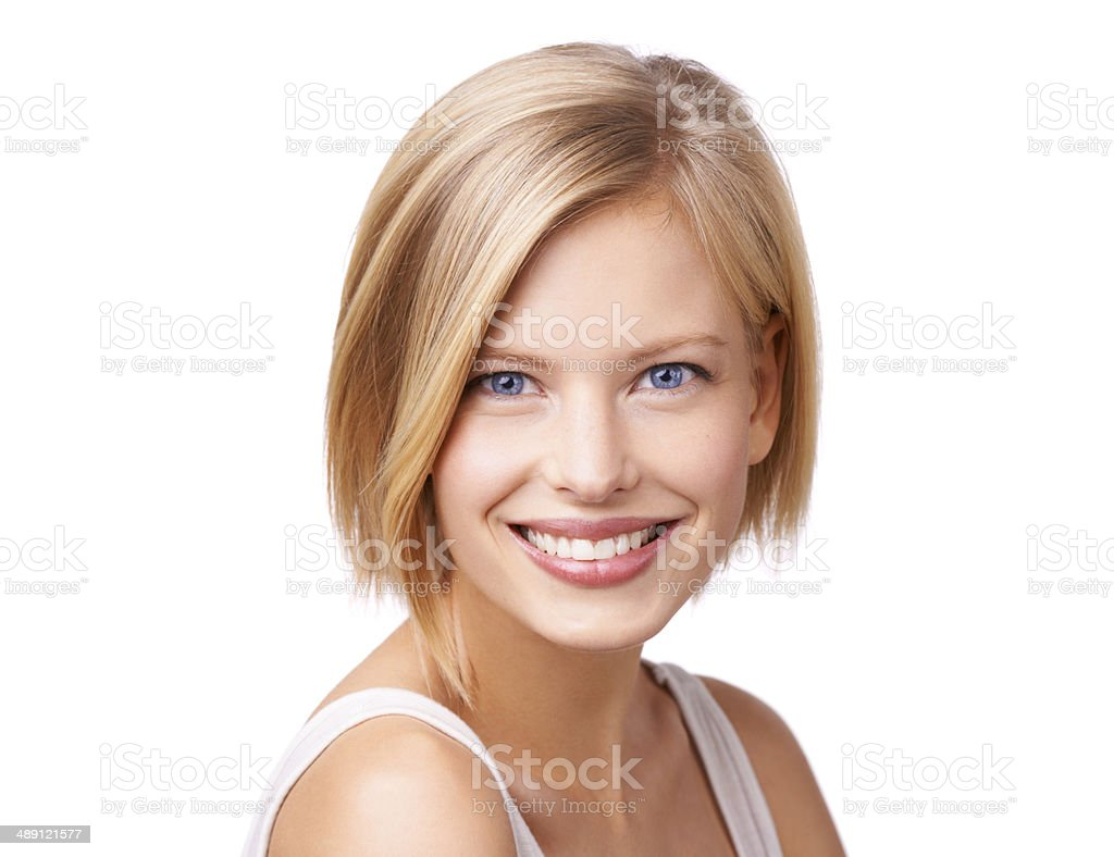 Feeling relaxed and beautiful stock photo