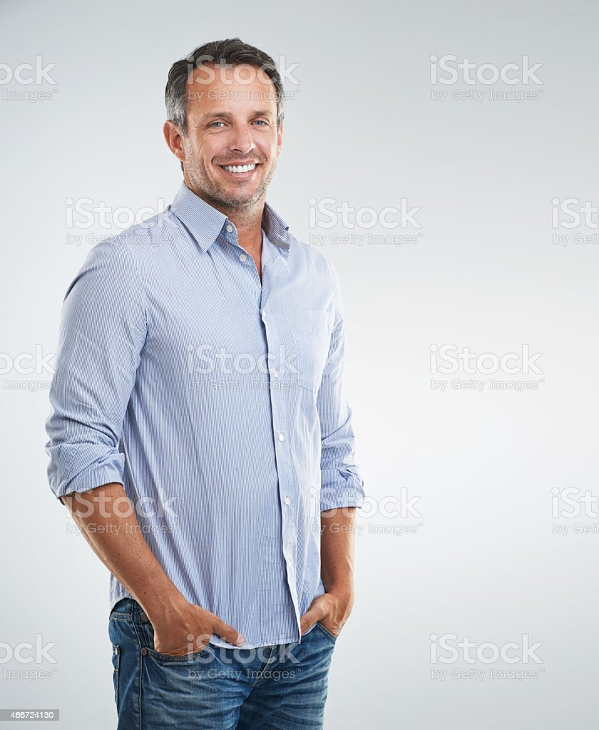 Feeling relaxed and taking things easy stock photo