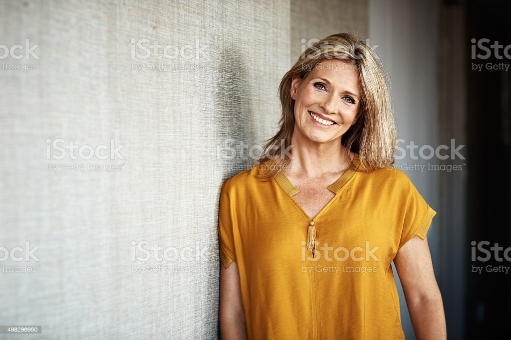 Feeling right at home... stock photo