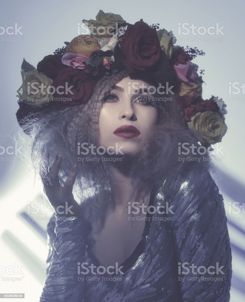 feeling so attractive stock photo