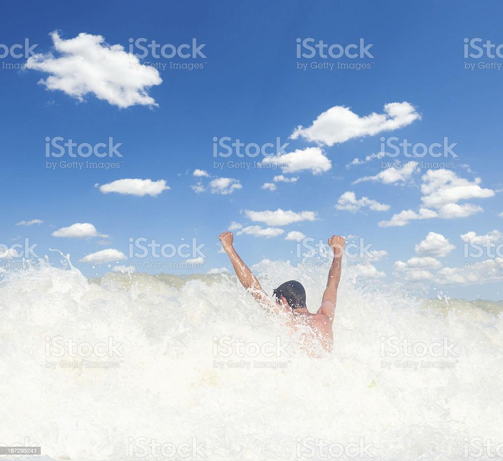 Feeling Strong royalty-free stock photo