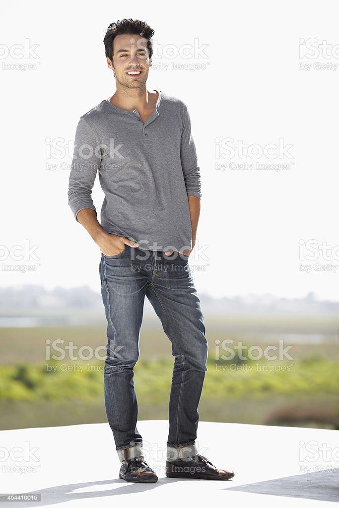 Feeling stylish and confident royalty-free stock photo