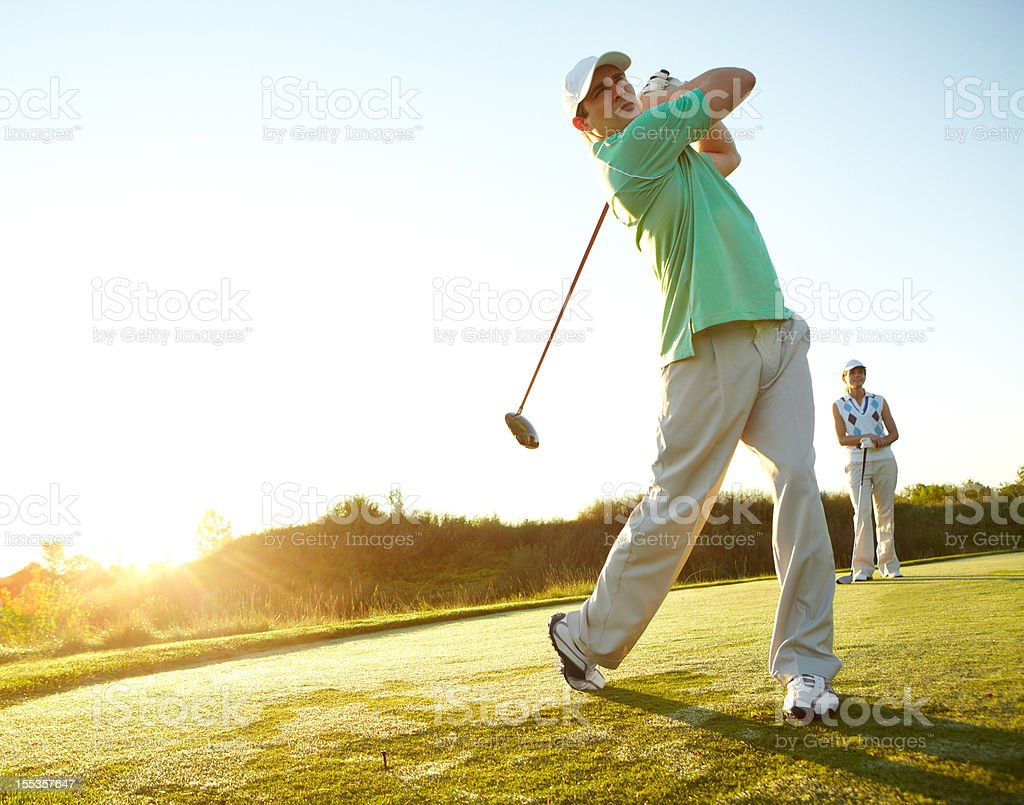 Feeling that determination to win stock photo