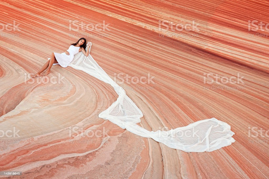 Feeling the Beauty of Nature (XXXL) stock photo