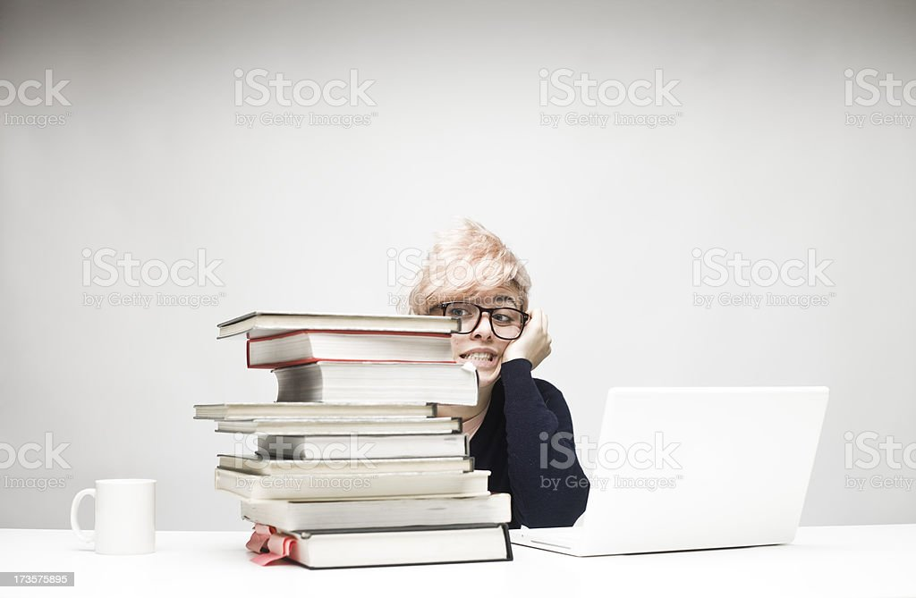 Feeling the Pressure stock photo