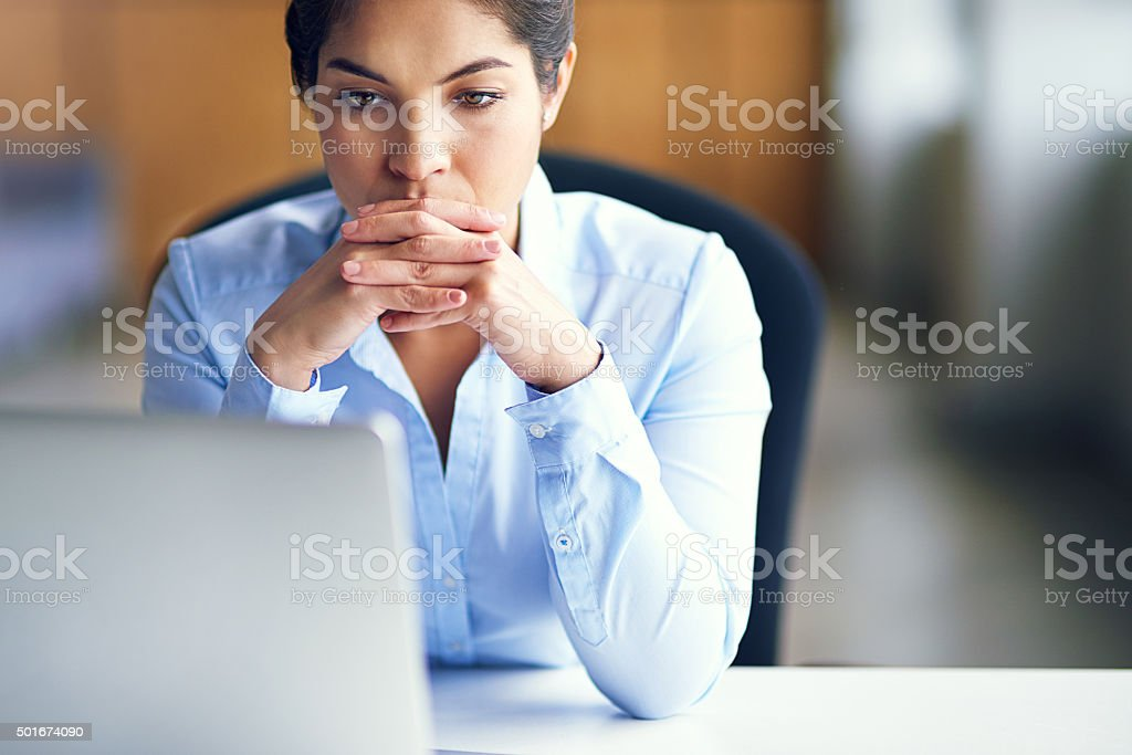Feeling totally burnt out stock photo