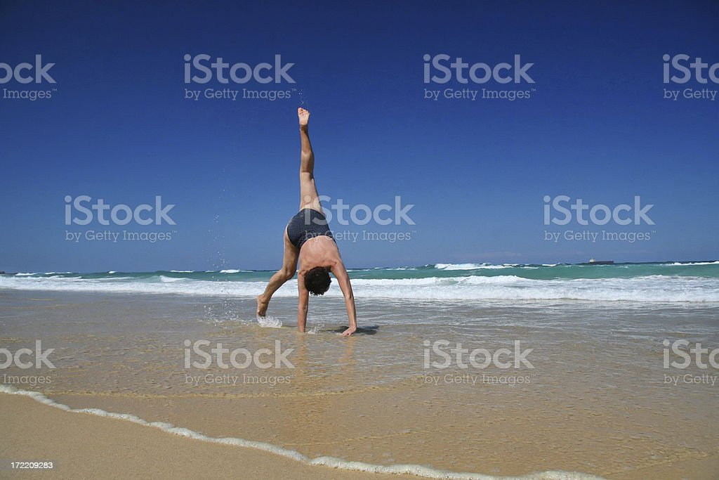 Feeling young royalty-free stock photo