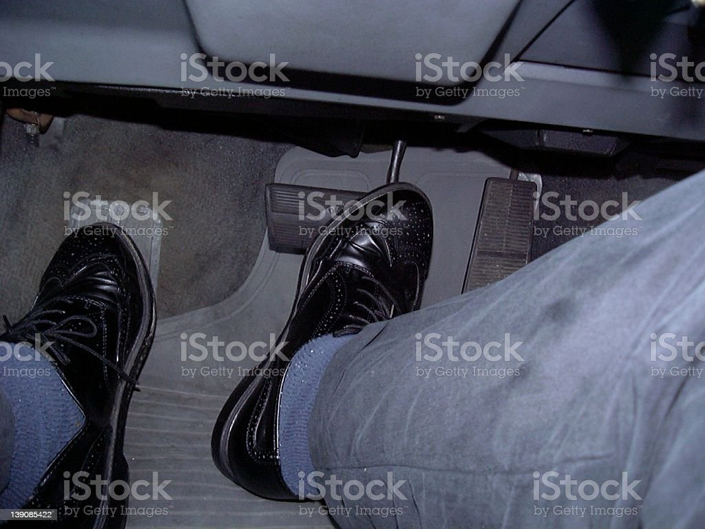 feet driving stock photo