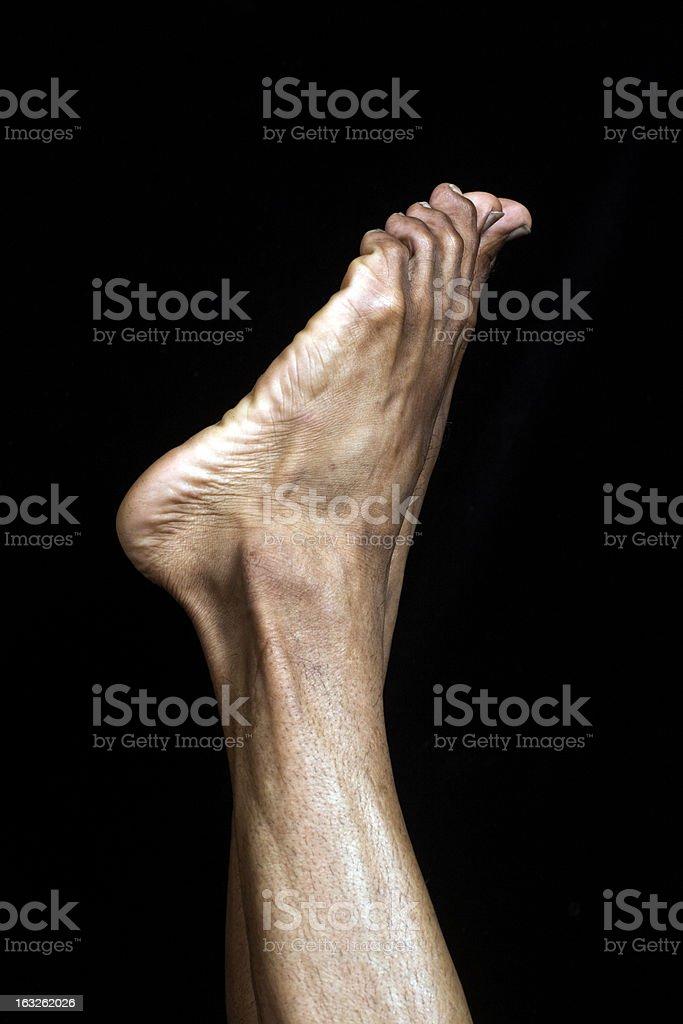 Feet first stock photo