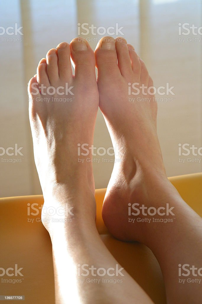 feet for massage royalty-free stock photo