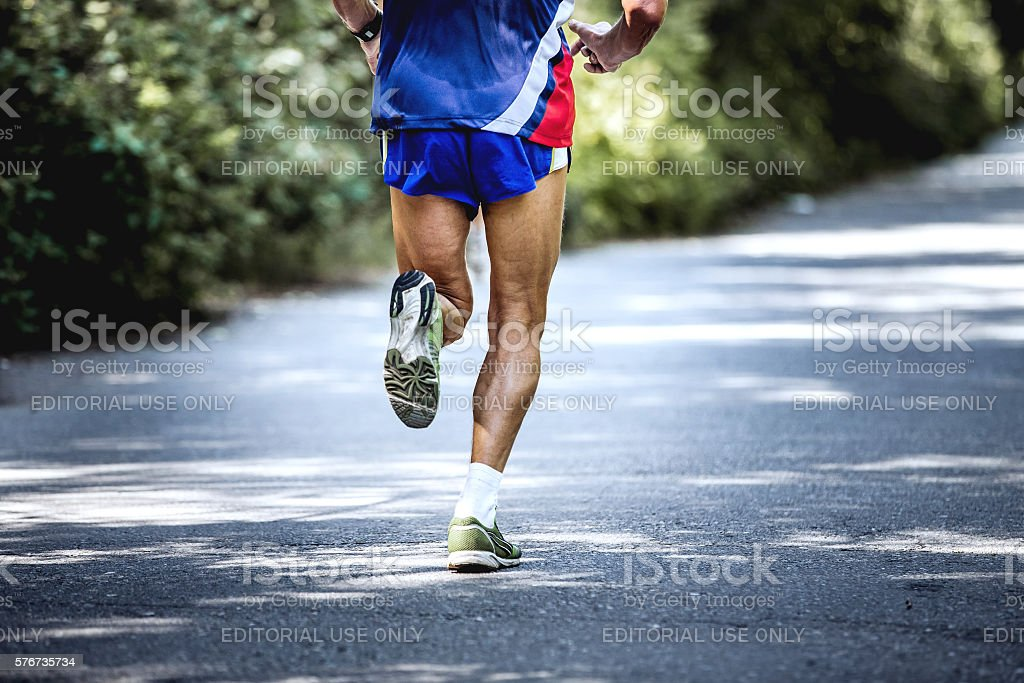 feet old male athlete royalty-free 스톡 사진