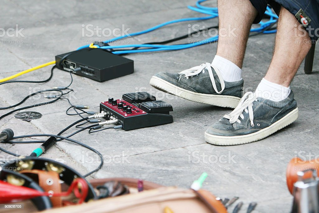 Feet on the beat! royalty-free stock photo