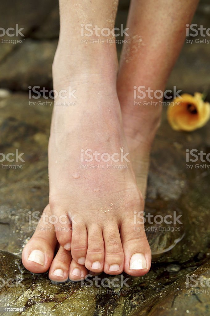 feet royalty-free stock photo
