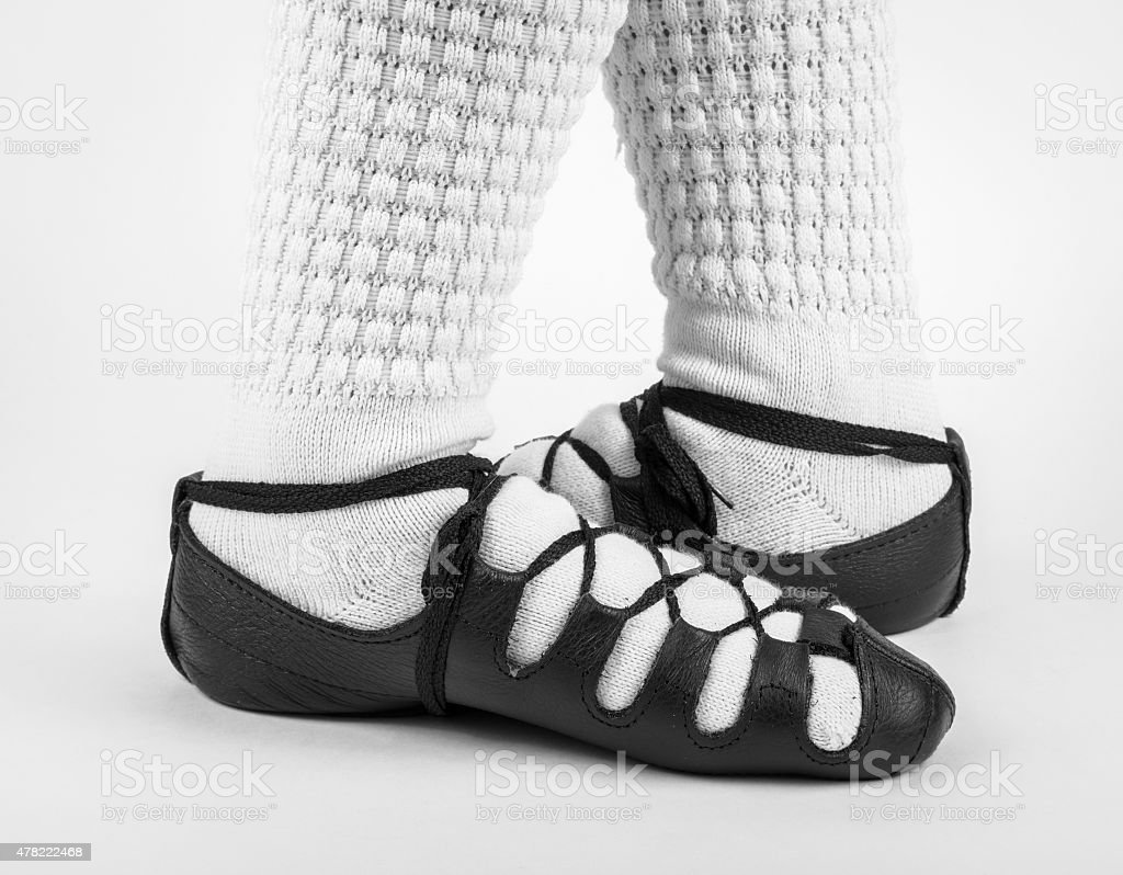feet turnout stock photo