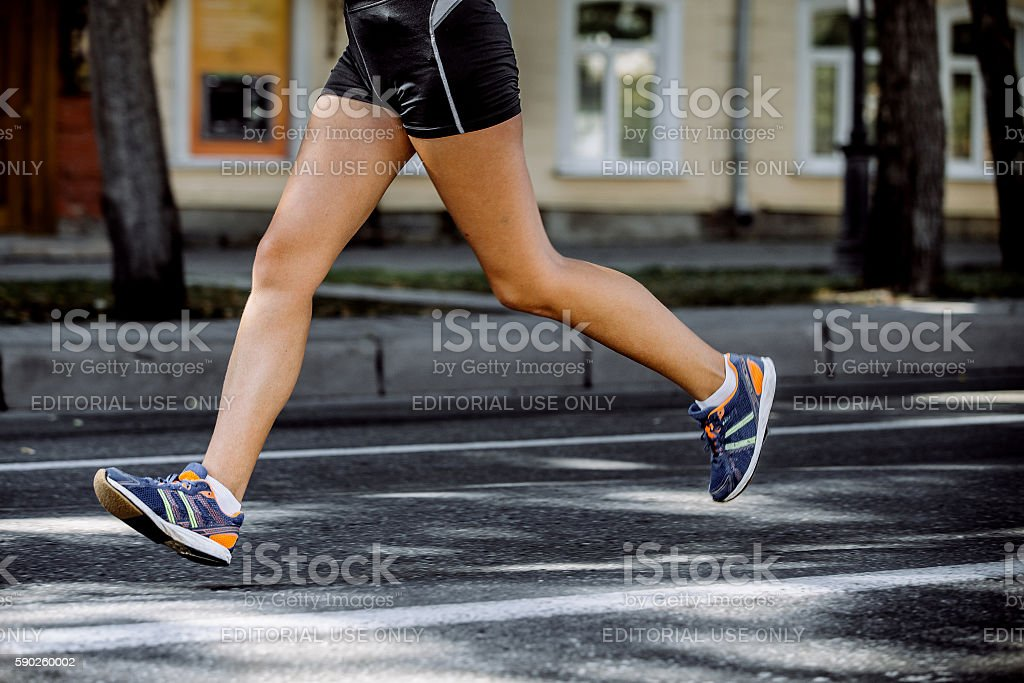 feet young girl athletes royalty-free 스톡 사진