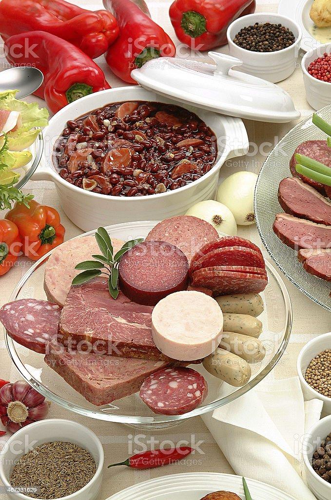 Feijoada - Typical food royalty-free stock photo