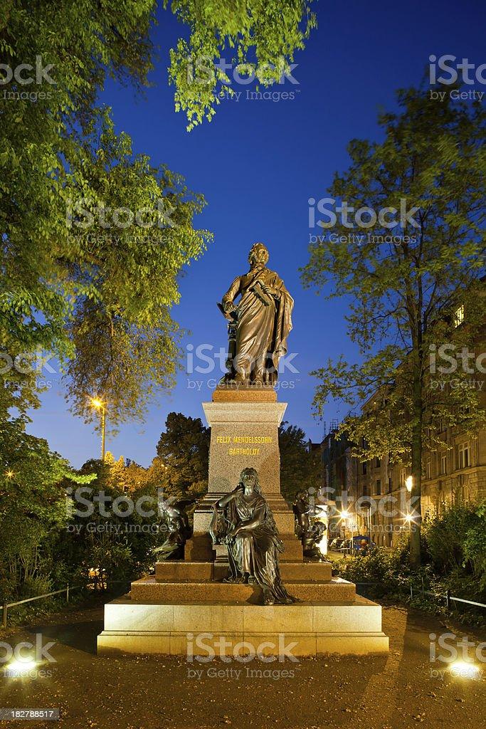 Felix Mendelssohn-Bartholdy stock photo