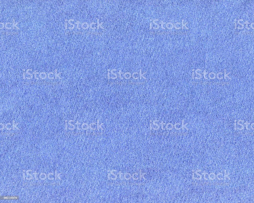 Felt — Blue royalty-free stock photo