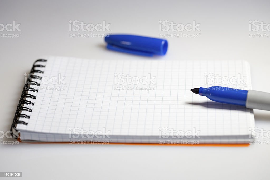 Felt Tip Marker royalty-free stock photo