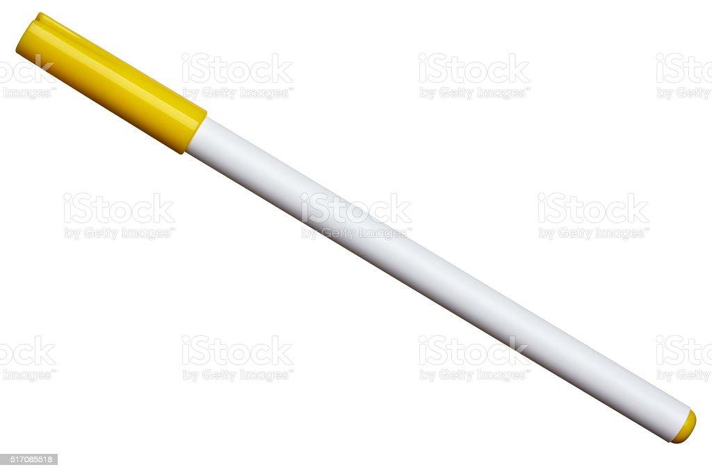felt tip pen color highlighter stock photo