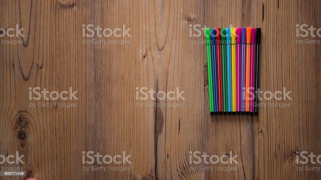 Felt Tip Pen stock photo