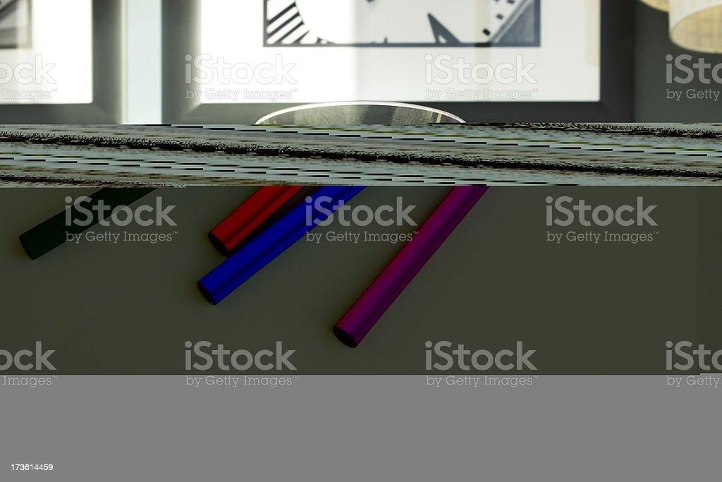 Felt Tip Pen School Art Supply stock photo