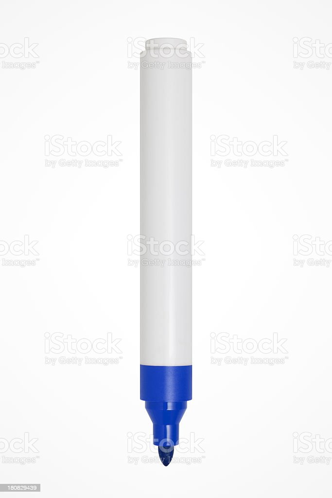 Felt Tip Pen With Clipping Path stock photo