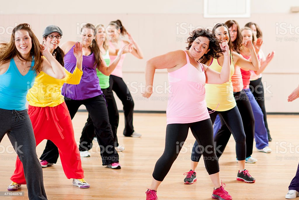 Female Adult Dance stock photo