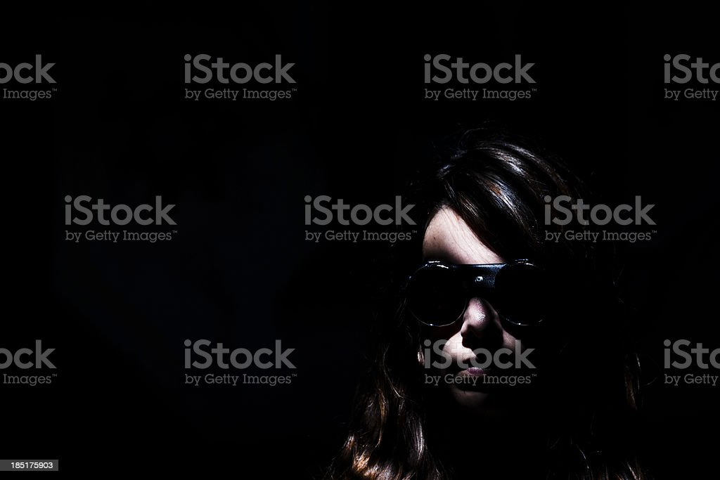 Female Agent royalty-free stock photo