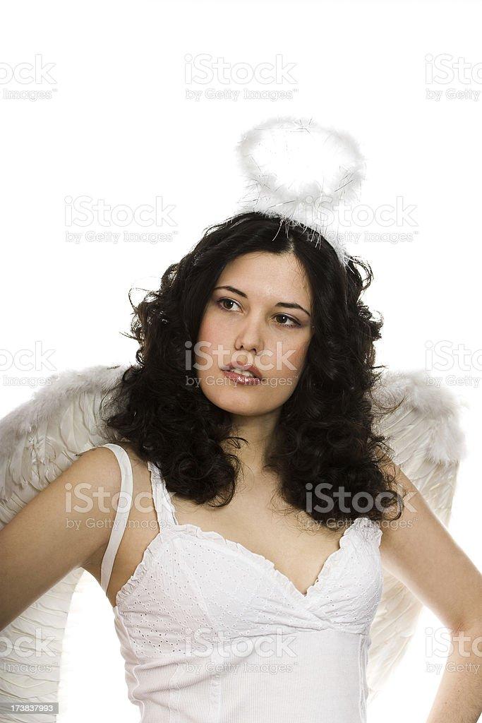 Female Angel royalty-free stock photo