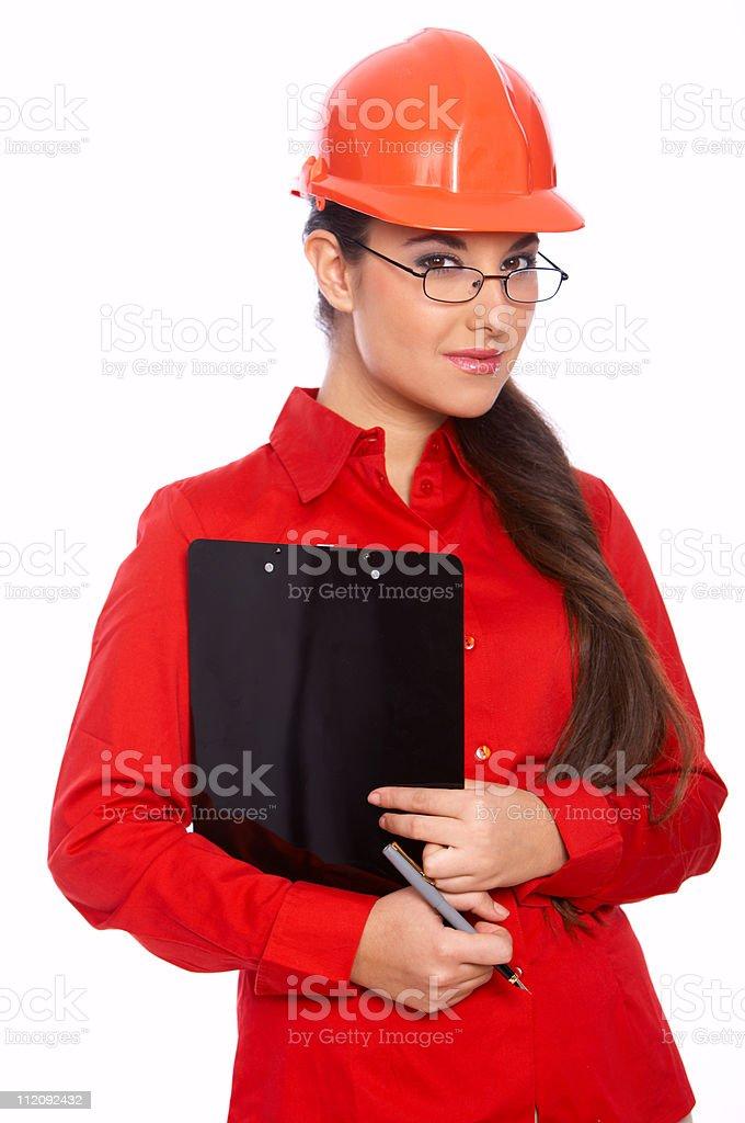 Female Architect stock photo