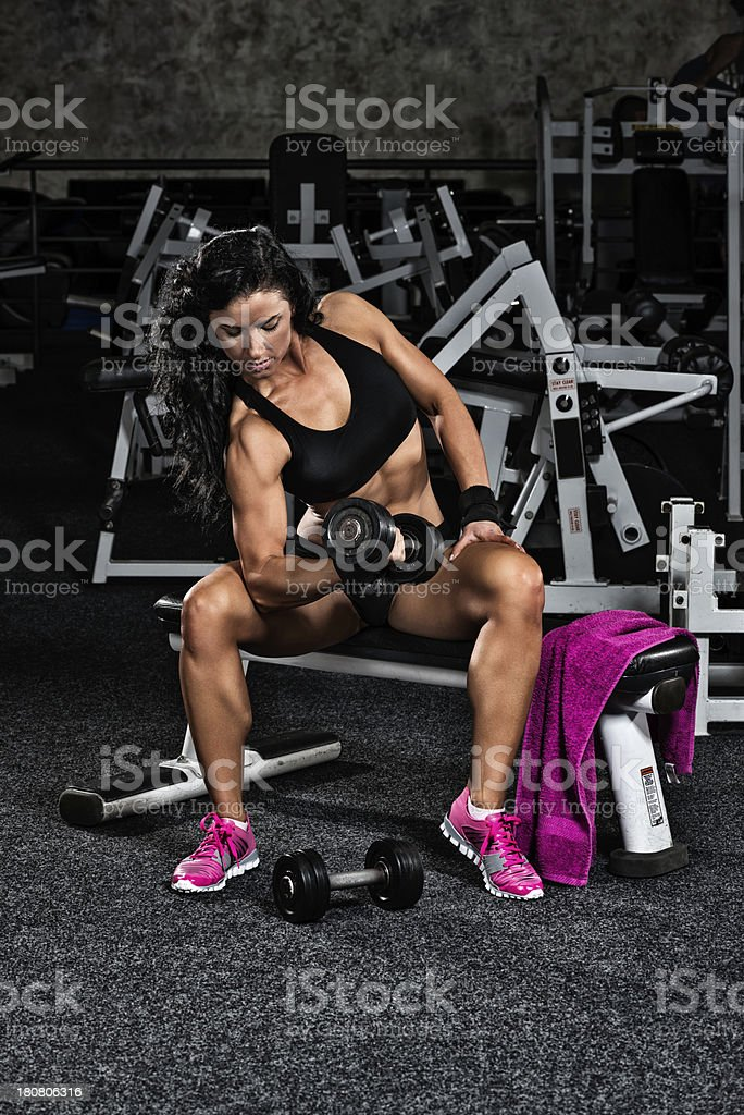 Female arms royalty-free stock photo