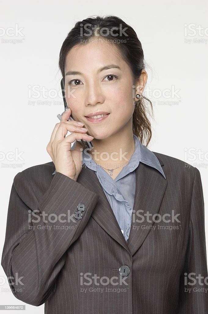 female asian business executive royalty-free stock photo