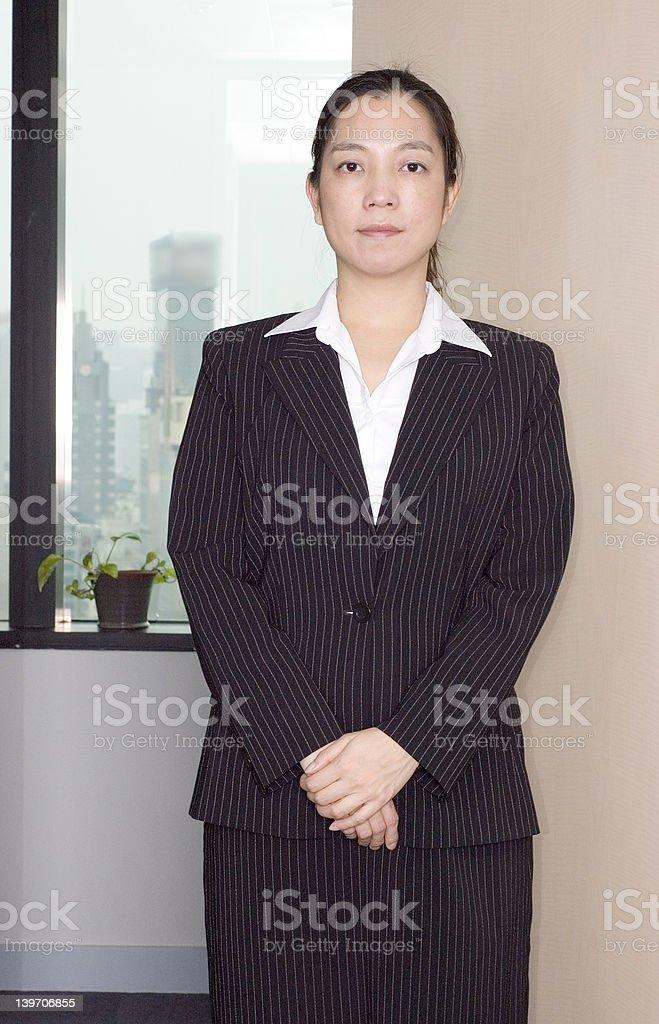 female asian executive royalty-free stock photo