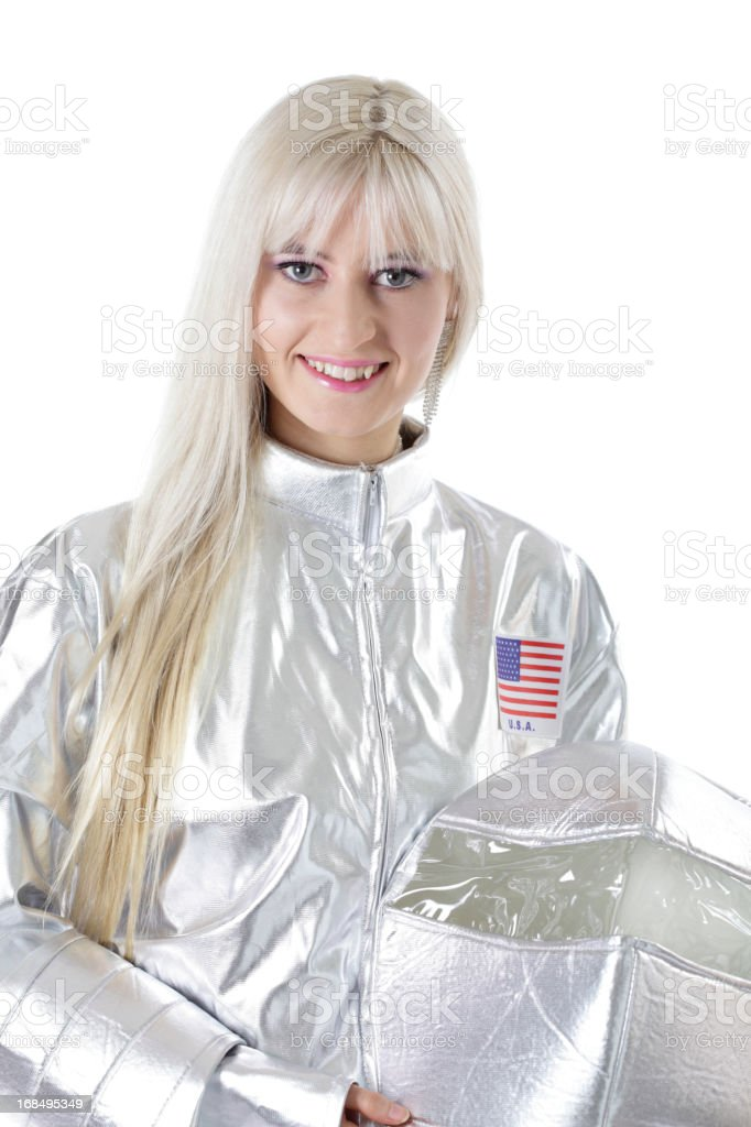 Female Astronaut stock photo