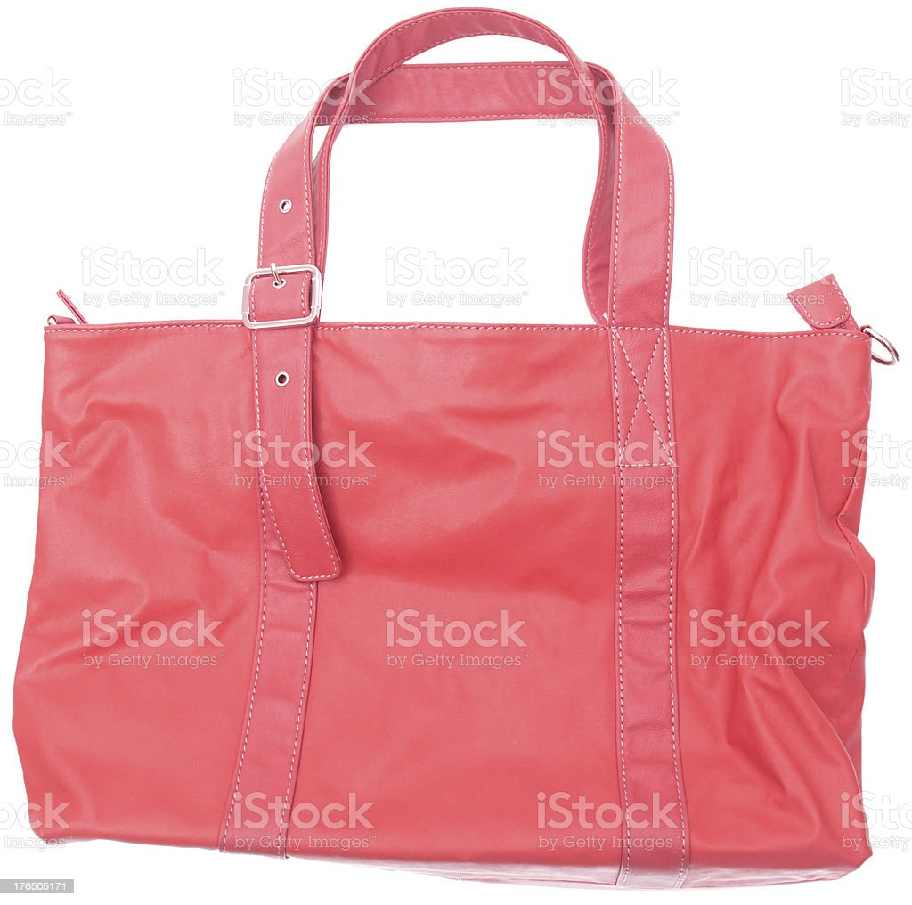 female bag isolated on white royalty-free stock photo