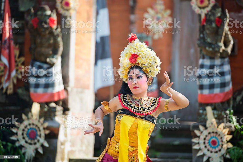 Female Balinese Dancer stock photo