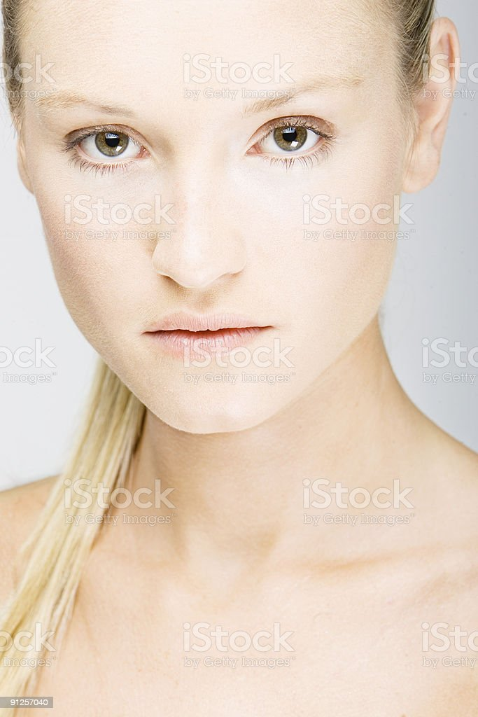 female beauty portrait royalty-free stock photo
