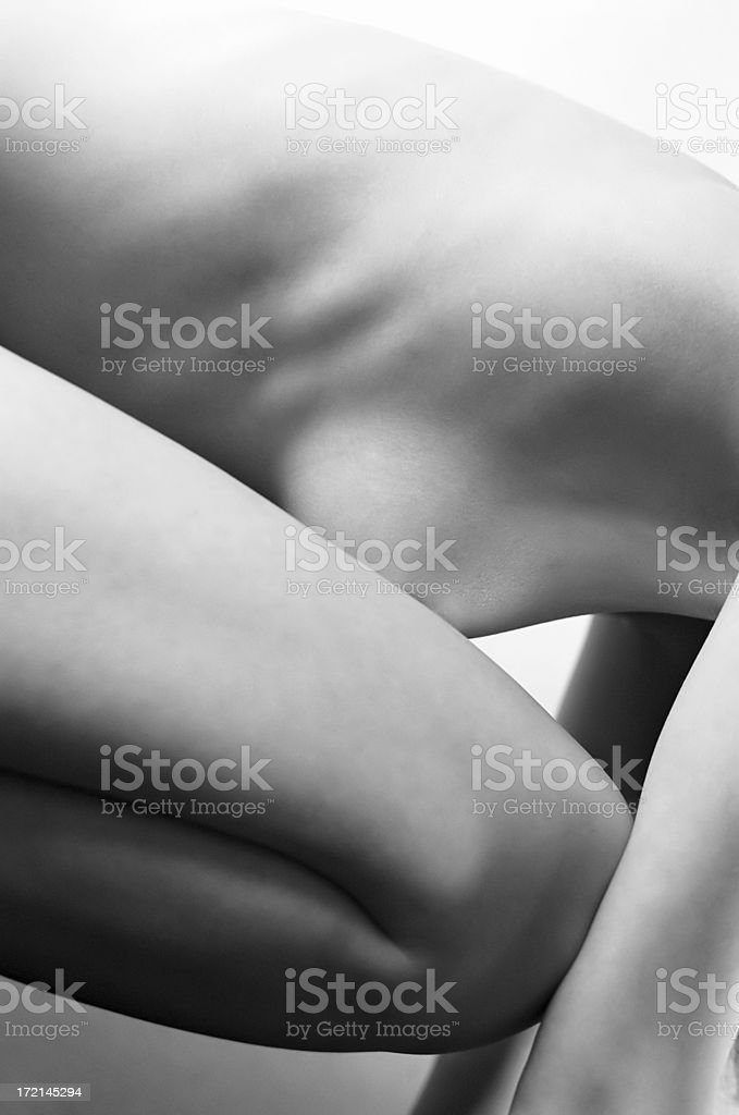Female body royalty-free stock photo