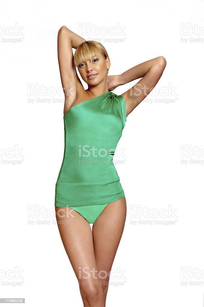 Female body. royalty-free stock photo