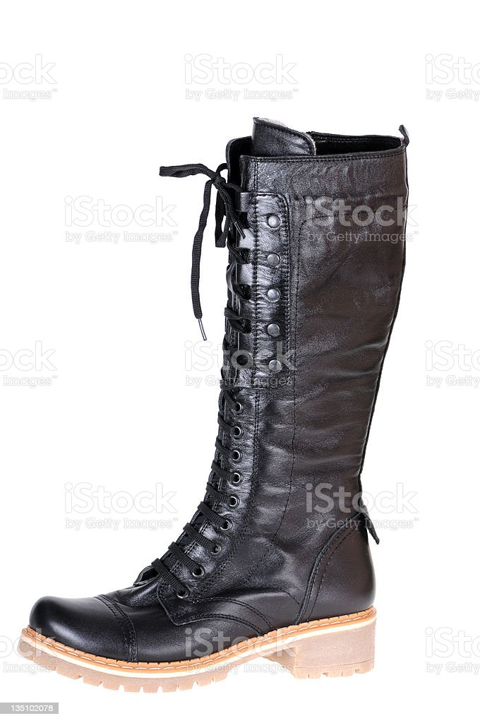 female boot stock photo
