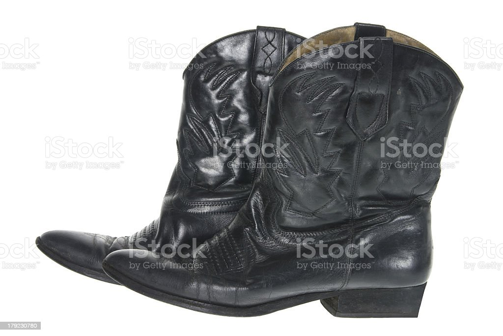 Female Boots royalty-free stock photo
