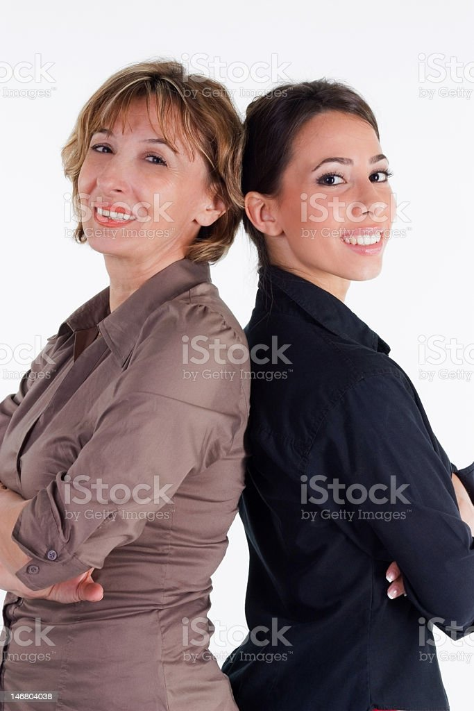 Female Business Partners royalty-free stock photo