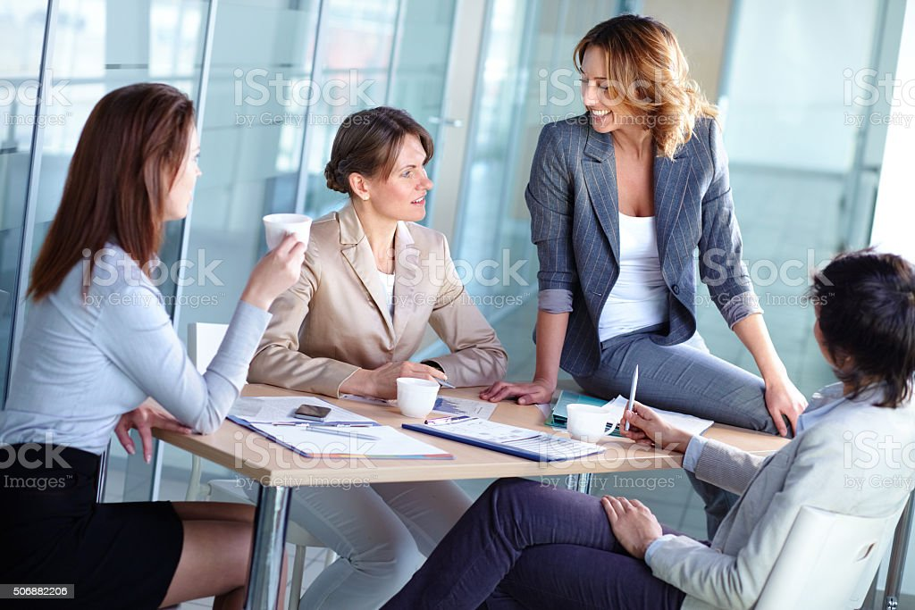 Female business stock photo